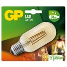 GP Lighting  LED lamp E27 4Watt 380Lm T45 vintage gold