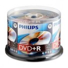 Philips DVD+R 4,7GB 16xspeed spindle 50 stuks