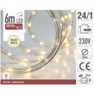 Lichtslang 6m 24 LED warm wit