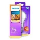 Philips led GLS E27 11Watt WarmGlow mat Blister