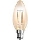 VT-1955-7113 Vtac led filament kaars E14 extra warm wit 4Watt