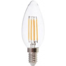 VT-1986-4301 Vtac led filament kaars E14 warm wit 4Watt